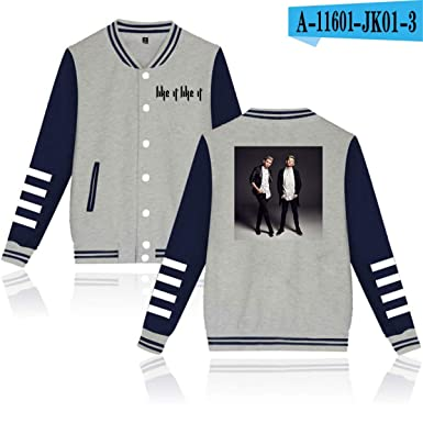 WEEKEND SHOP Marcus &Martinus Baseball Jacket Hip Hop Clothes Women Men Casual Jacket Gray