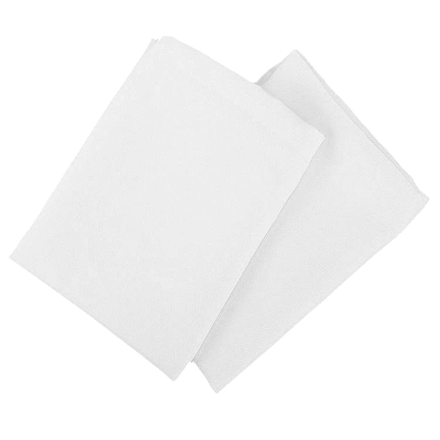 QPC Direct Pair of Zipped Waterproof Dust Mite Proof Pillow Guard Protectors White