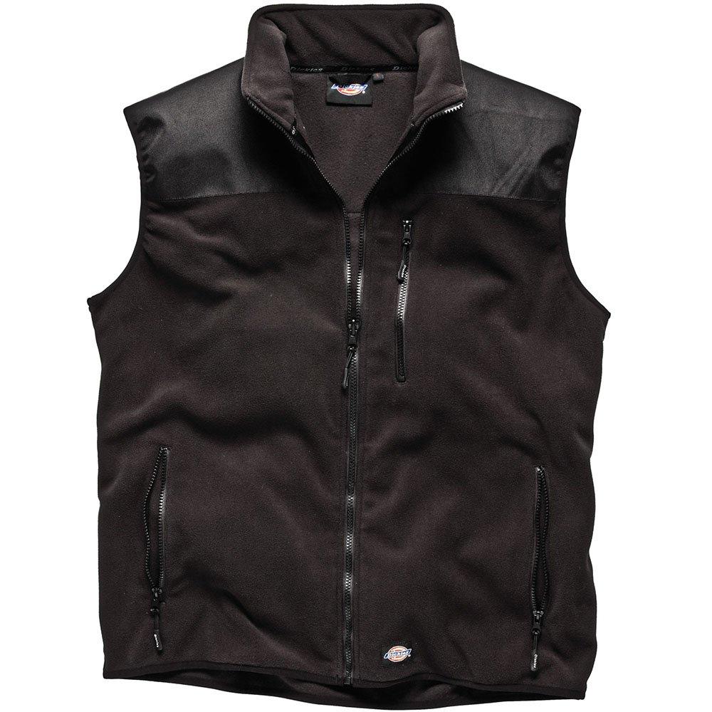 Dickies Mens Workwear Townsend Bodywarmer Black BW11800B