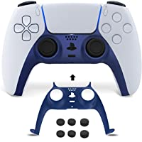 NexiGo PS5 Controller Faceplate with Thumb Grips, Replacement Shell Decoration Accessories, Grip Decorative Strip for…
