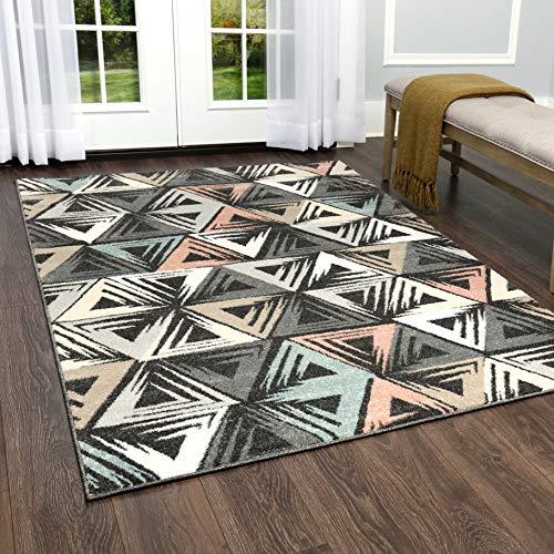 Home Dynamix New Weave Folger Area Rug, 8x10, Charcoal