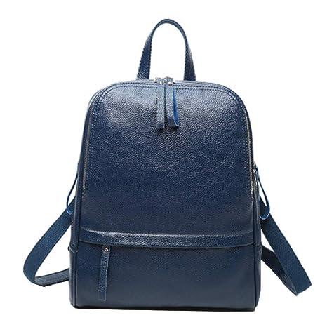 b2a7f77188 Saino Originali Viaggio Zainetti Multifunzione Donna Zaini Tinta Unita  Casual Backpack Pelle Impermeabile Zaino Morbido Grande