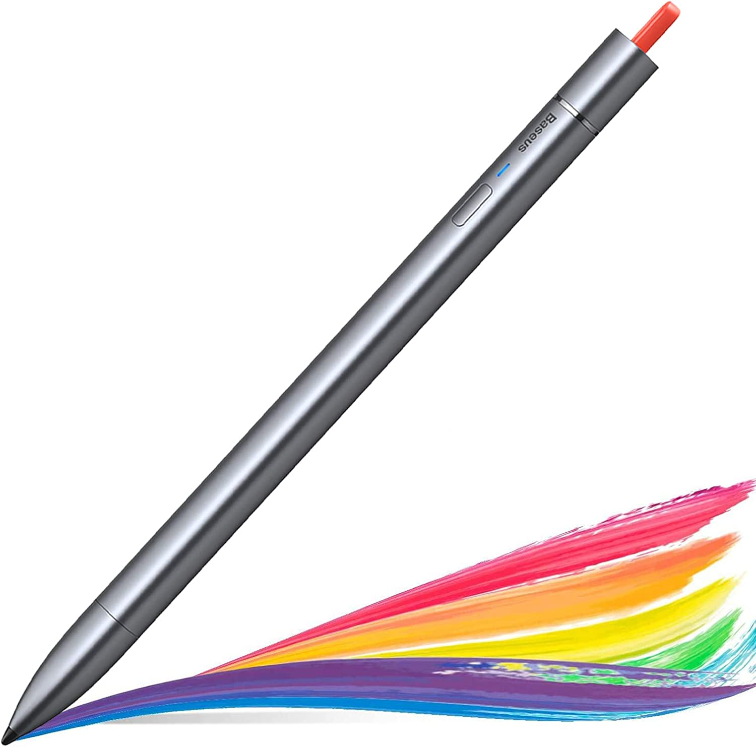 Baseus Stylus Pen for iPad, iPad Pencil with Magnetic Design and Palm Rejection for iPad 7th 6th Generation, iPad Pro 2020 2018 (11/12.9 inch), iPad Mini 5th Gen, iPad Air 3rd Gen