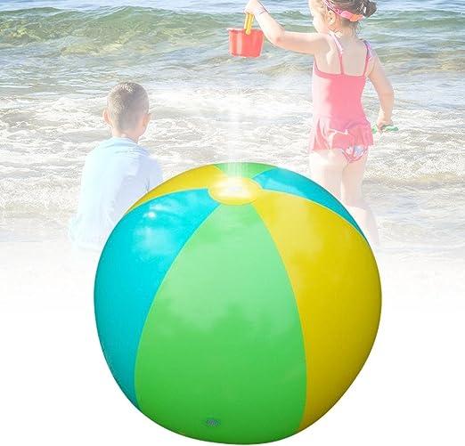 Seasaleshop - Globo Hinchable con chorros de Agua de PVC para ...