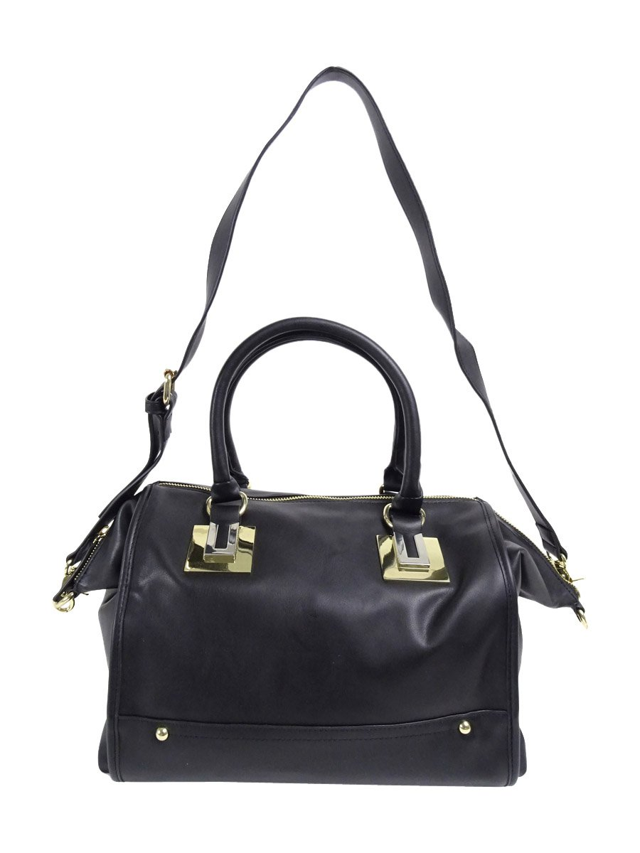 French Connection Women's Arden Hobo Black Tote