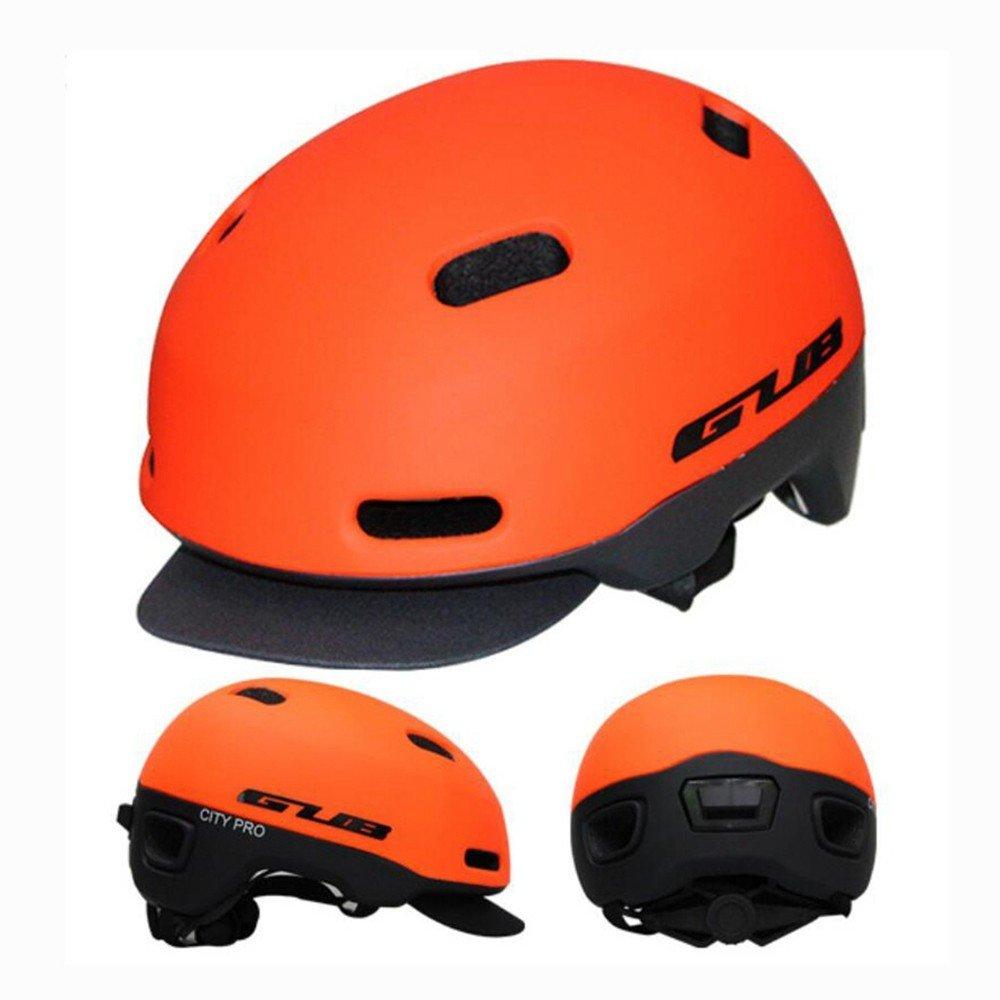 LOLIVEVE Fahrradhelm Reiten Schutzhelm Mountainbike Straßenfahrzeug Schutzhelm Integrierte Formteil