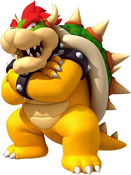 Amazon.com: BOWSER Super Mario Bros Decal Removable WALL STICKER ...