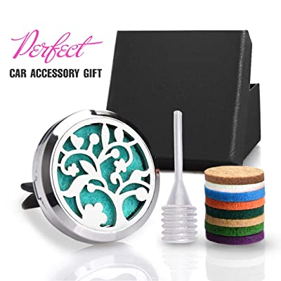 "CHIDRA Orchid Flower Car Essential Oil Diffuser,1.2"" Aromatherapy Essential Oil Vent Clip,Fragrance Locket-Waterless & Wireless: Automotive"