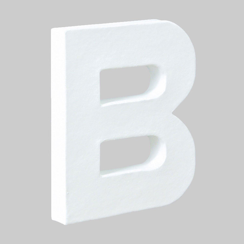デコパージュ土台 デコパッチ ペーパーマッシュ B アルファベット型 10.5×12×1.5cm dp-ac254 B00487JJ5I