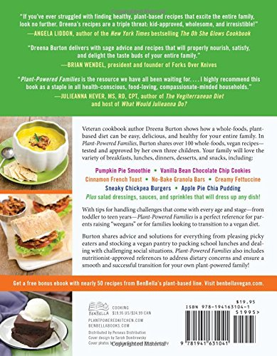 Plant powered families over 100 kid tested whole foods vegan plant powered families over 100 kid tested whole foods vegan recipes dreena burton 0783324918632 amazon books forumfinder Image collections