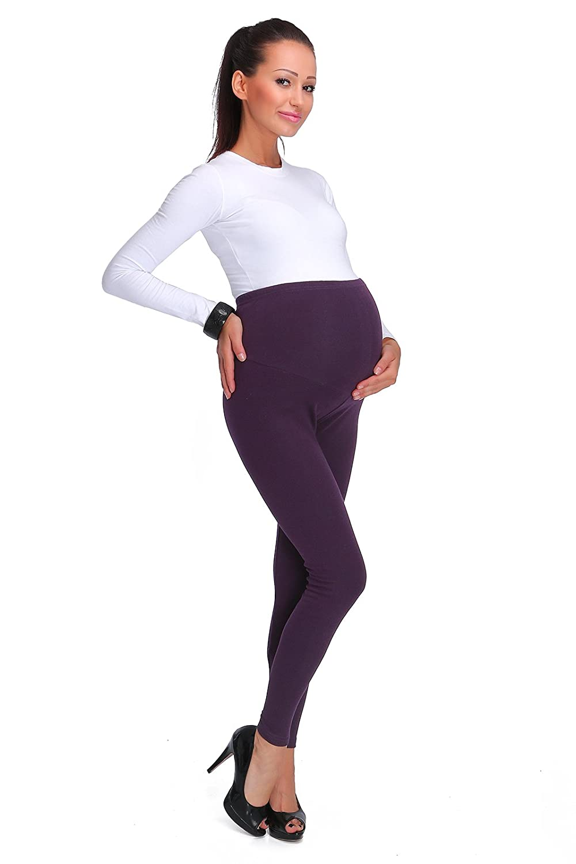 d3770f1fa4 hi!mom® Women's Thick Fashionable Maternity Leggings Soft Fleece Lined:  Amazon.co.uk: Clothing