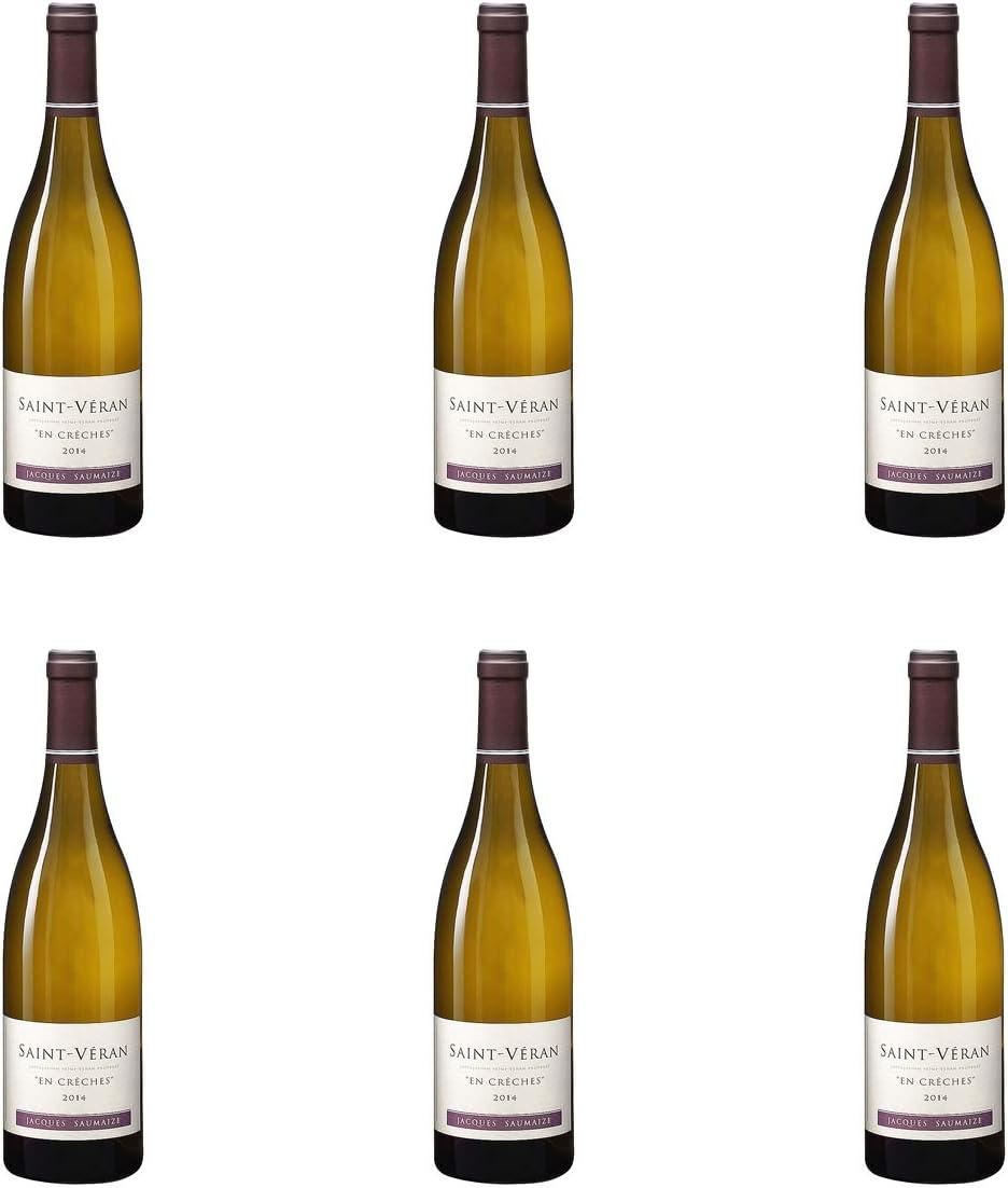 [ 6本 まとめ買い ] サン ヴェラン アン クレッシュ (ジャック&ナタリー ソメーズ) / 2015年 フランス 白ワイン 辛口 750ml×6本