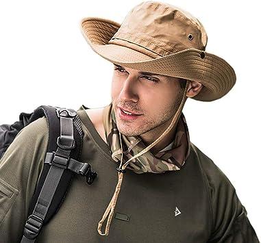 Oferta amazon: Dsaren Sombrero de Ancho Brim Hombres Sombrero de Pescador Camuflaje del Ejército para Exteriores Pesca Camping Ciclismo Caza Golf Senderismo
