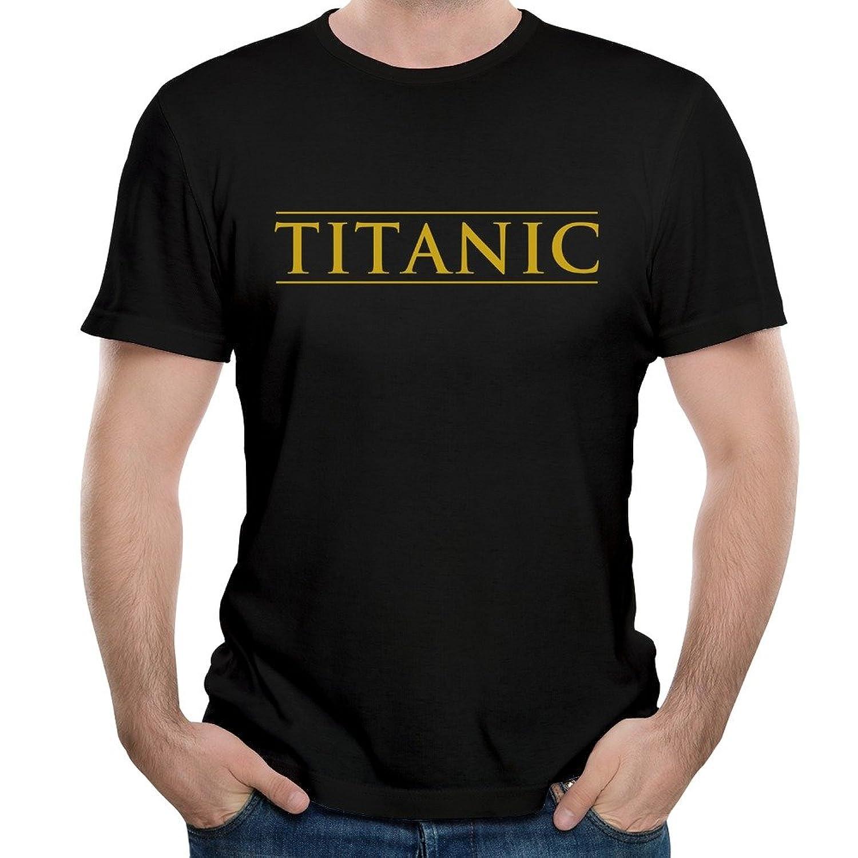 DF Mans Titanic Movie Logo Kate Winslet Tshirts