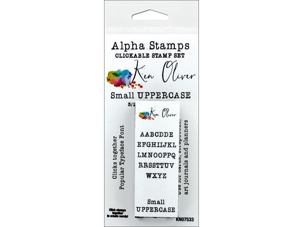 Contact USA KOliver Clickable Stamp Alpha Sm Upper