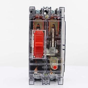 Interruptor automático de caja de plástico DZ15-100T-290 air switch-100A: Amazon.es: Industria, empresas y ciencia