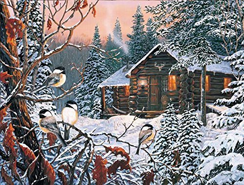 Enchanted Forest Jigsaw Puzzle - Enchanted Woods 300 pc Jigsaw Puzzle -Winter Theme- by SunsOut