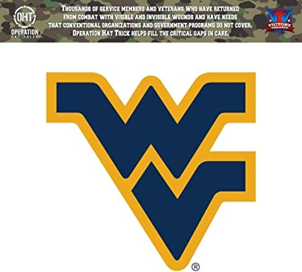 "West Virginia Mountaineers NCAA Vinyl Car Bumper Window Sticker Decal 4/""X5/"""