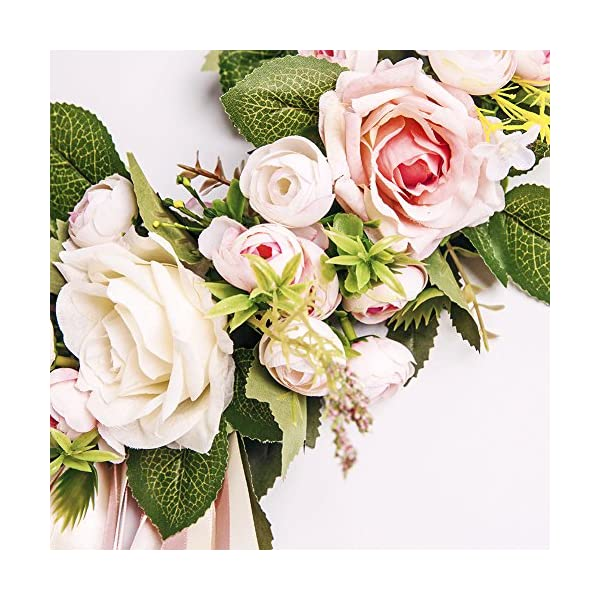 Adeeing-Handmade-Floral-Artificial-Simulation-Peony-Flowers-Garland-Wreath-for-Home-Party-Decor-Pink