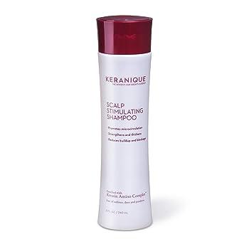 Keranique Scalp Stimulating Free of Sulfates Keratin Shampoo, 8 Fl Oz