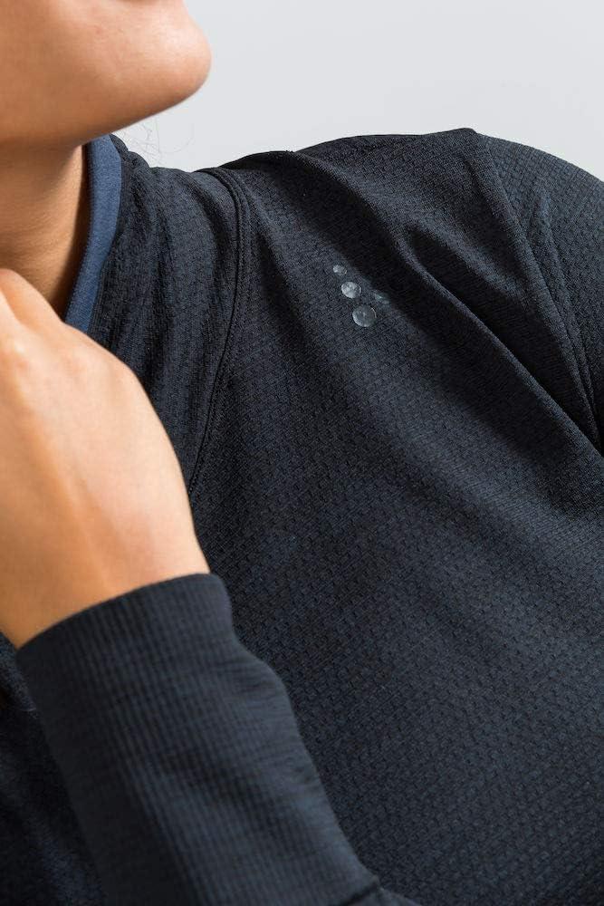 Craft Fuseknit Comfort Wrap Langarmshirt Damen Black 2019 Unterw/äsche