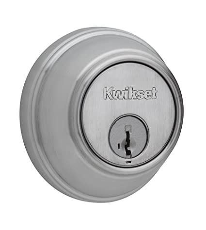 Kwikset 816 Key Control Single Cylinder Deadbolt featuring SmartKey ...