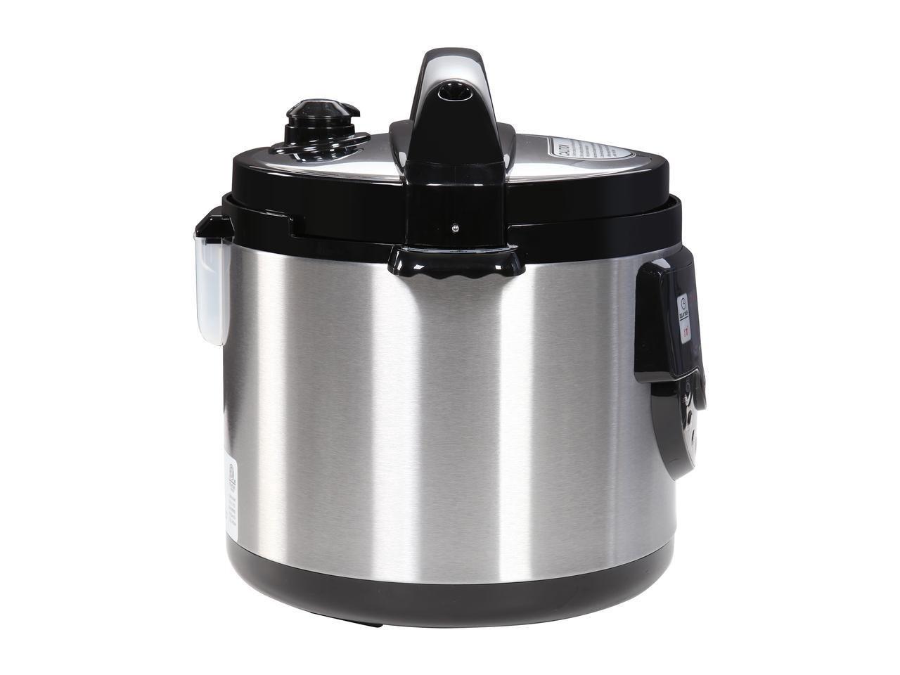 Tayama TMC-60XL 6 quart 8-in-1 Multi-Function Pressure Cooker, Black by TAYAMA (Image #3)