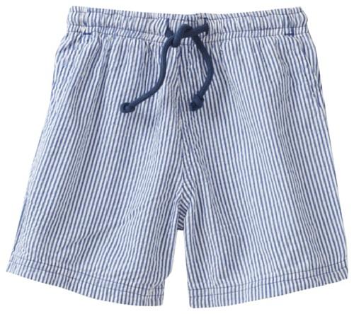 Mulberribush Baby Boys' 4 Pocket Stripe Seersucker Drawstring Short