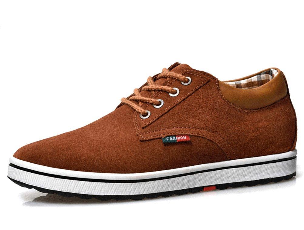 Marrón Hombres Color Cuero Zapatillas Ante De xTwP5t