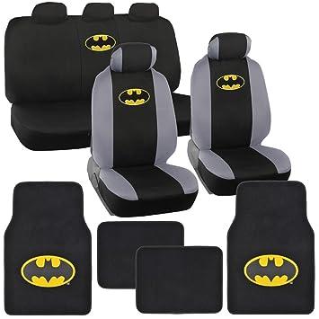 Amazon.com: Cubiertas para asientos de auto de Gotham City ...