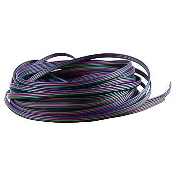20m RGB Draht 22AWG 4 Pin 4 Farbe Verlängerungskabel für Streifen 66ft