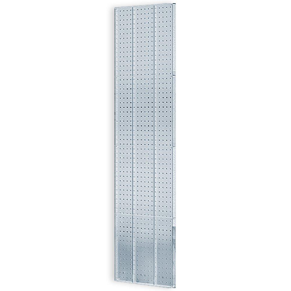 Azar 771660-CLR 16-Inch W by 60-Inch H Clear Pegboard Wall Panel, 2-Piece Set, Clear
