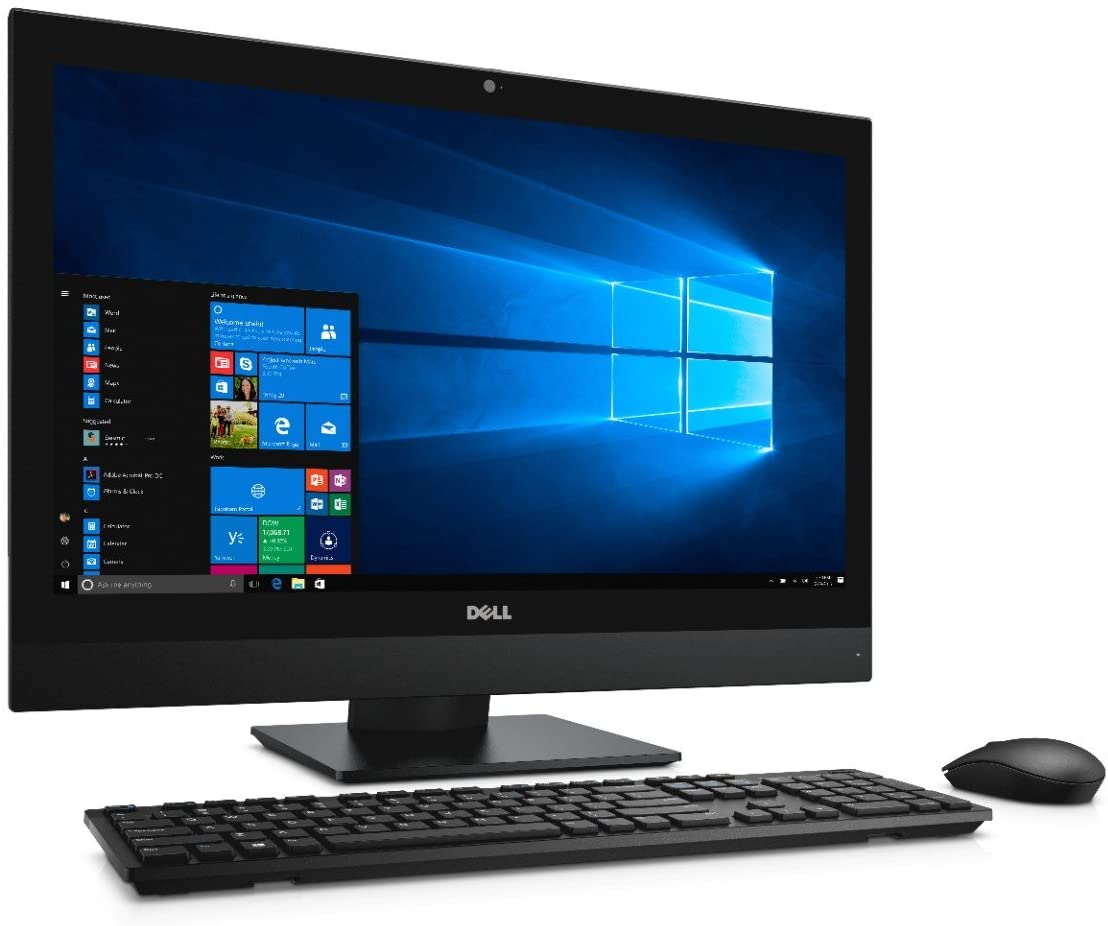 Dell OptiPlex 7450 All In One Desktop Computer with Touch, Intel Core i5-7500, 8GB DDR4, 500GB Hard Drive, Windows 10 Pro (31JHY),Black