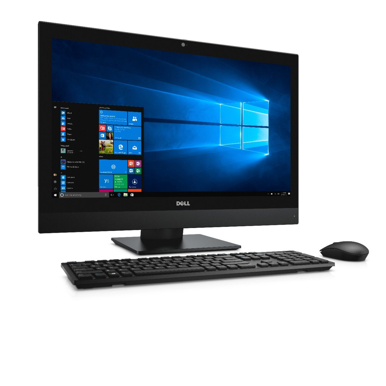 Dell OptiPlex 7450 All In One Desktop Computer, Intel Core i7-7700, 8GB DDR4, 256GB Solid State Drive, Windows 10 Pro (73NM3) by Dell