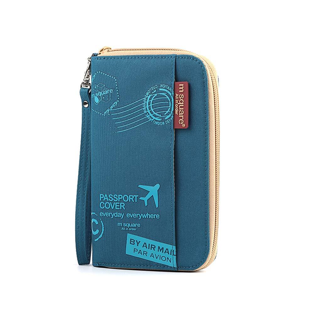Passport Wallet, Holder Cover Wallet RFID Blocking Card Case Travel Document Organizer by LAOPAO