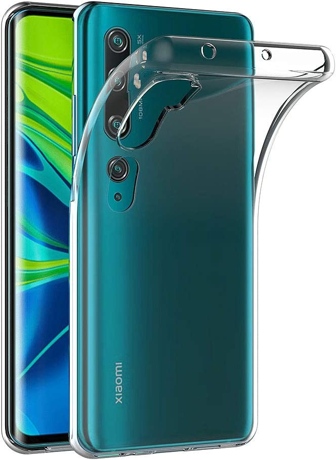 AICEK Funda Compatible Xiaomi Mi Note 10 / CC9 Pro, Transparente Silicona Fundas para Xiaomi Note 10 Carcasa Silicona Funda Case (6,47 Pulgadas): Amazon.es: Electrónica