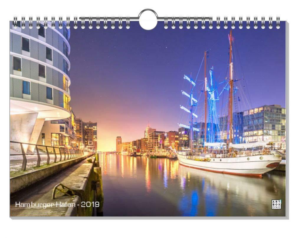 ArtboxONE Kalender 2019 Hamburg, Meine Perle  Wandkalender A2 Städte Hamburg B07H93XKLG    | Um Sowohl Die Qualität Der Zähigkeit Und Härte
