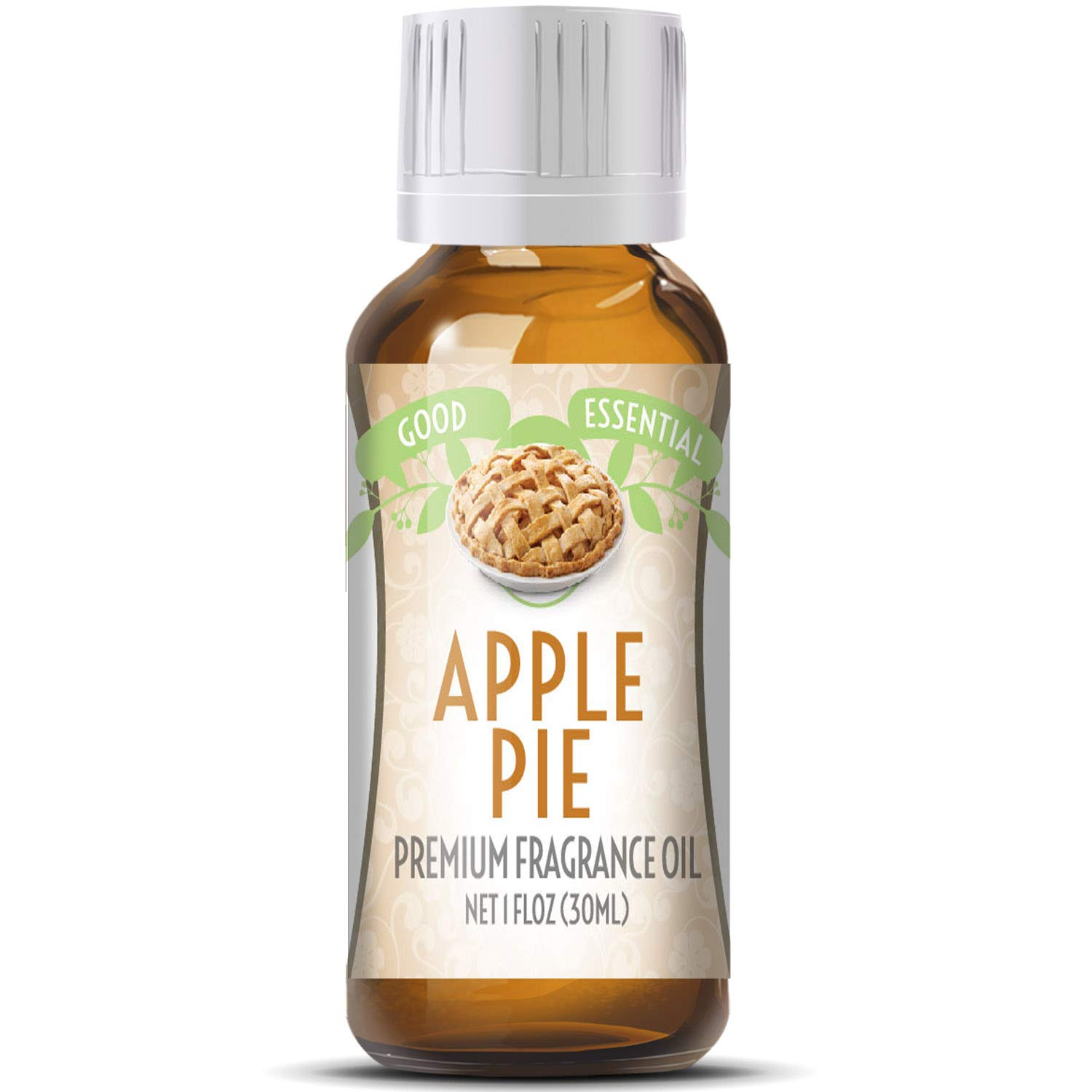 Apple Pie Scented Oil by Good Essential (Huge 1oz Bottle - Premium Grade Fragrance Oil) - Perfect for Aromatherapy, Soaps, Candles, Slime, Lotions, and More!