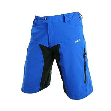 0f32a4a0cf Lixada Pantalones Cortos de Ciclismo Hombres Tipo Casual Capri Pantalones  Cortos para MTB Ciclismo Alpinismo Deportes
