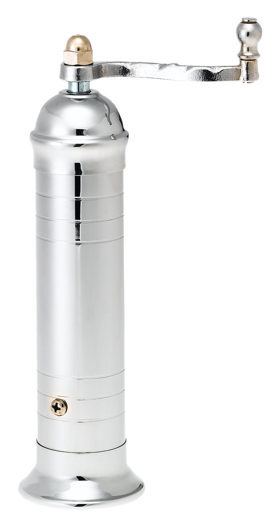 Pepper Mill Imports Atlas Pepper Mill, Chrome, 8'' by Pepper Mill Imports