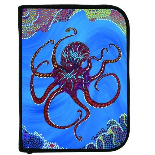 (Scuba Diving Log Book - Rogest Blue Octopus Design)