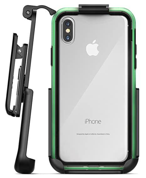 super popular 4a63f ba724 Encased Belt Clip Holster for Lifeproof Slam Case - iPhone X (case not  Included)