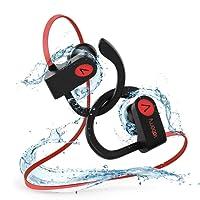 Auriculares Bluetooth Deportivos,Voberry IPX7 Impermeable Auriculare inalambricos Running Sport,10 Horas,Ruido de Cancelación CVC 6.6, Sonido Estéreo Micrófono