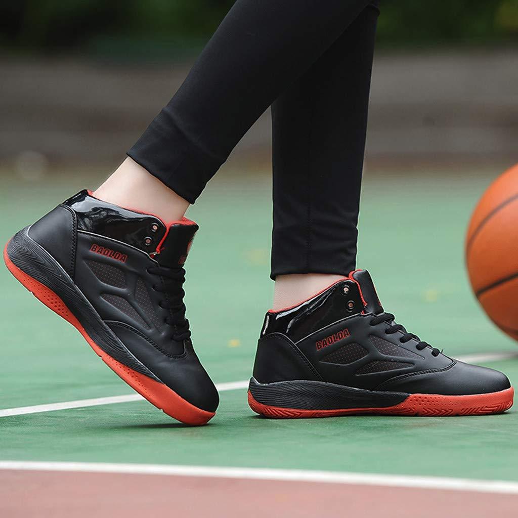 Outdoor Leichte Wanderschuhe M/äNner Atmungsaktive Sportschuhe Sto/ßD/äMpfung rutschfeste High-Top-Basketball-Schuhe Turnschuhe Herren Turnschuhe Jungen Louyihon-Turnschuhe M/äNner