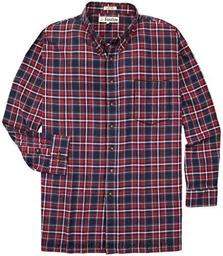 Tall Mens Flannel Shirt Foxfire product image