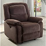 Serta Power Recliner, Brown 37.75