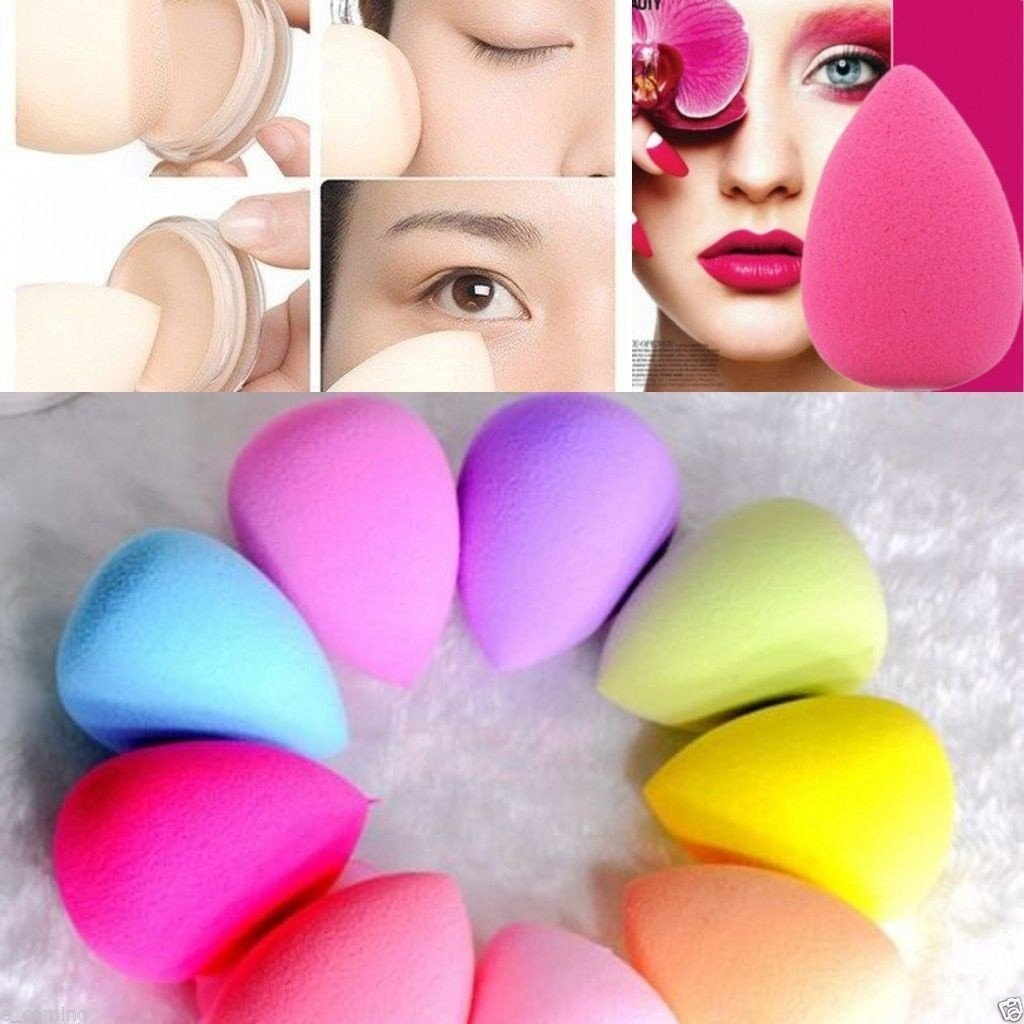Clearance Sale Make Up Puff,BESTOPPEN 5PCS Pro Beauty Makeup Blender Foundation Puff Multi Shape Sponges (5PCS)