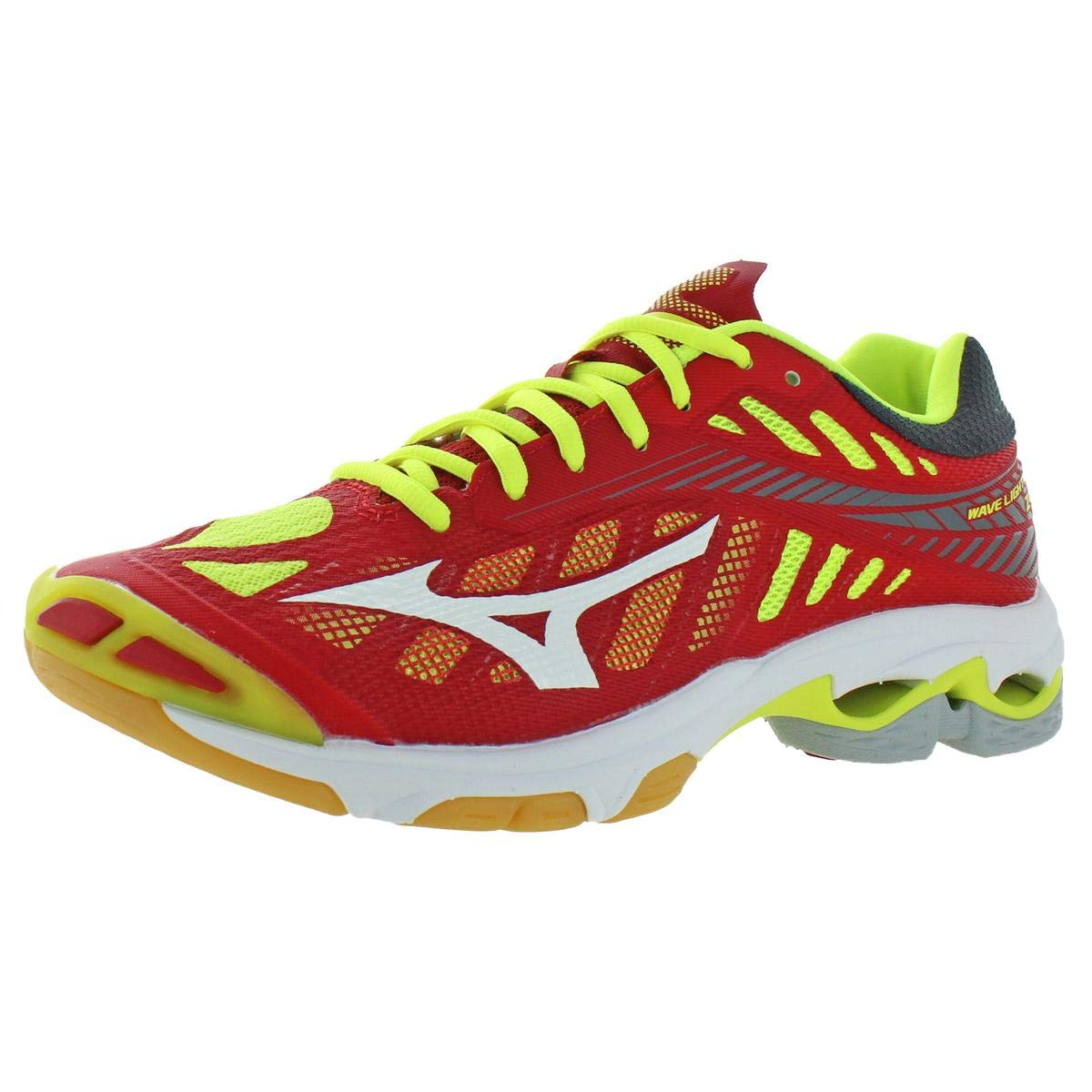 Mizuno Mens Wave Lightening Z4 Trainers Volleyball Shoes Red 8.5 Medium (D) by Mizuno