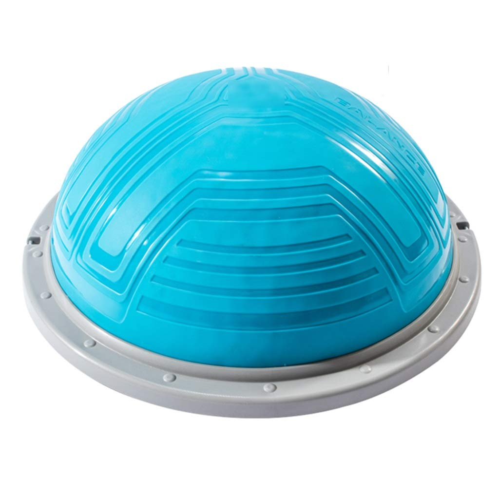 Sports Fitness Yoga Wave Speed Ball Semi-Circle Balance Ball Fitness Ball Multi-Function Training Ball Rehabilitation Training Ball (Load Bearing: 500kg) Exercise Ball Chairs
