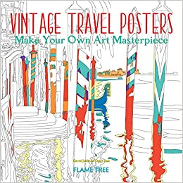 Vintage Travel Posters (Art Coloring Book): Make Your Own